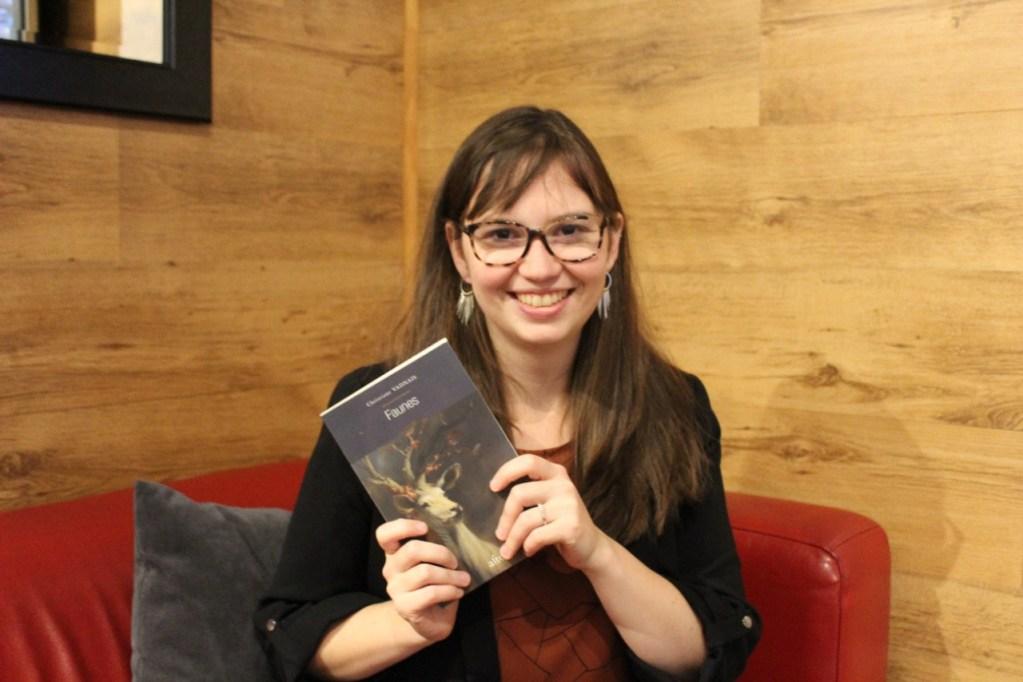 Christiane Vadnais, gagnante du Prix des Horizons imaginaires