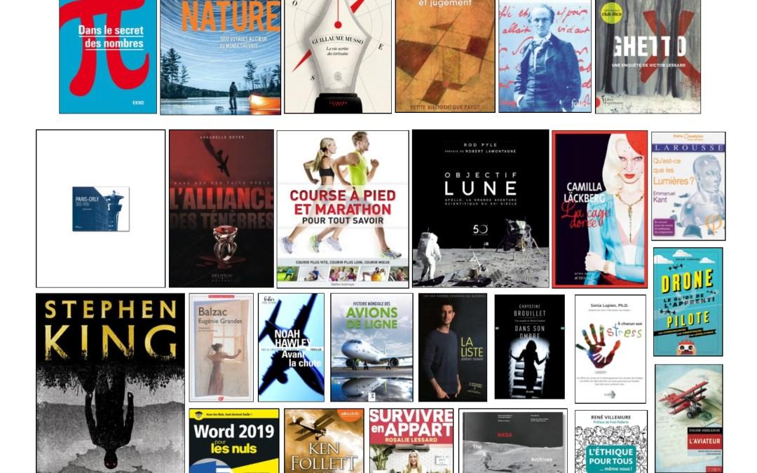 Nouveautés – Livres à l'ÉNA – Janvier 2020
