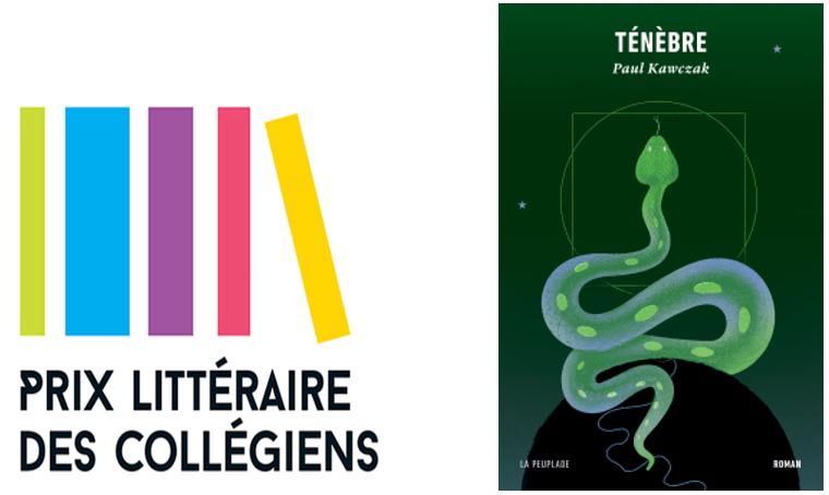 """""""Ténèbre"""" de Paul Kawczak remporte le Prix littéraire des collégiens 2021"""