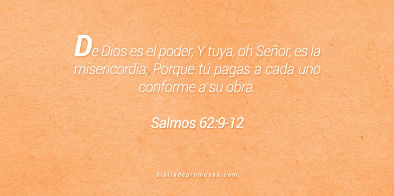 salmos 62:9-12