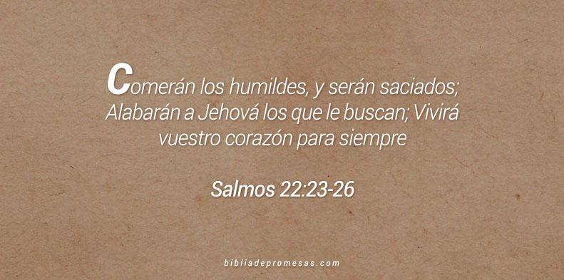 Salmos 22:23-26