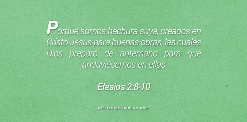 Efesios 2:8-10