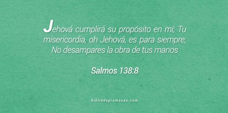 Salmos 138:8