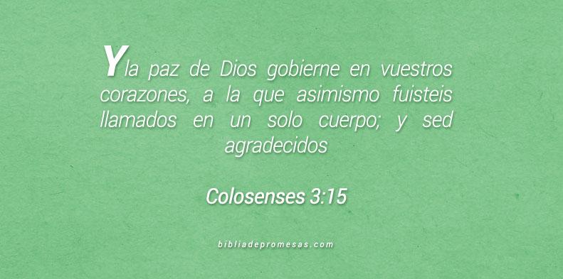Colosenses 3:15