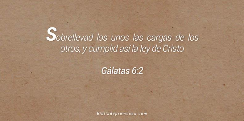 Gálatas 6:2