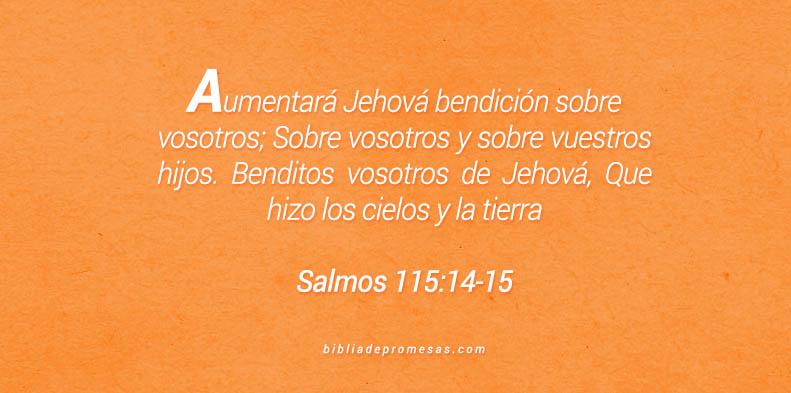 Salmos 115:14-15