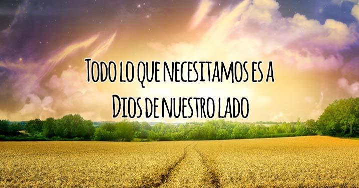 Todo lo que Necesitamos es a Dios