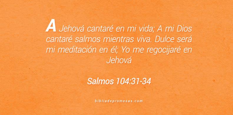 Salmos 104:31-34