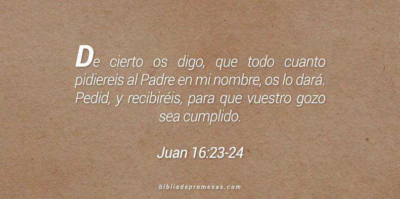 Juan 16:23-24
