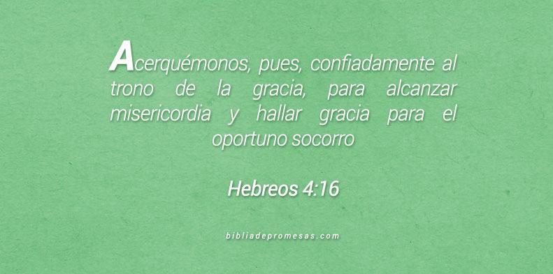 Hebreos 4:16