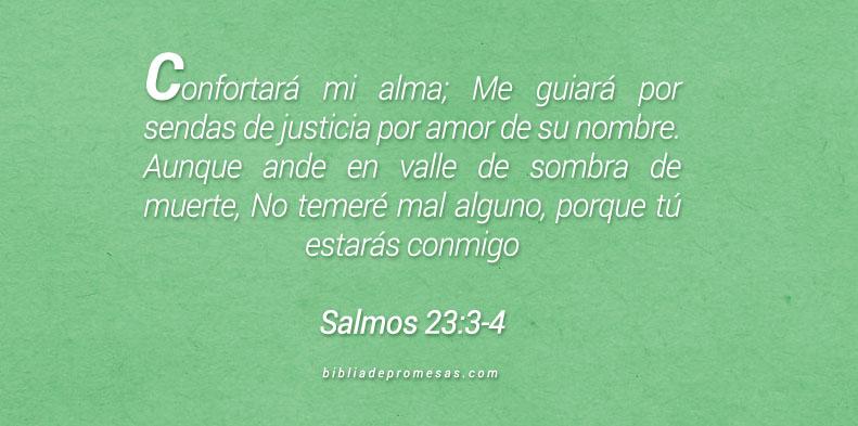 Salmos 23:3-4