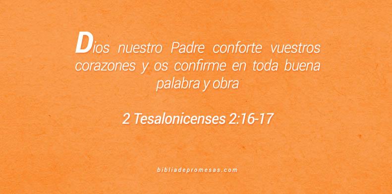 2 Tesalonicenses 2:16-17
