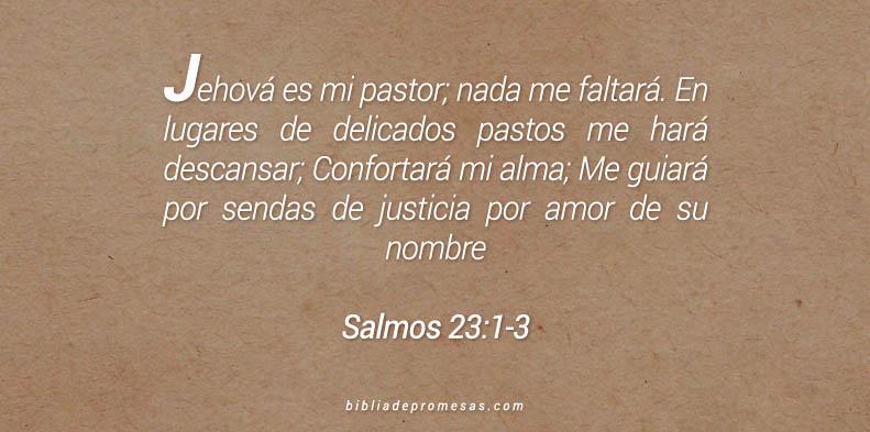 Salmos 23:1-3