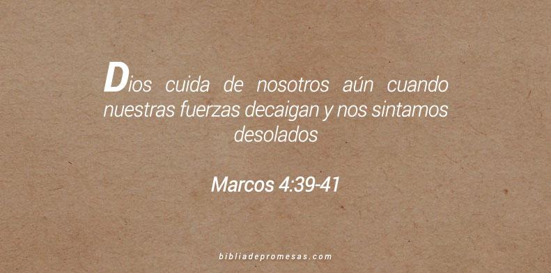 Marcos 4:39-41