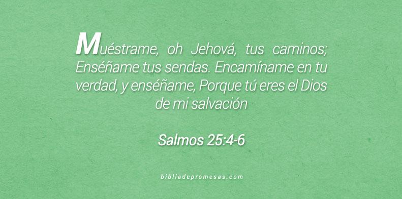 Salmos 25:4-6
