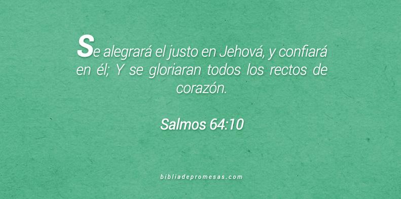Salmos 64:10