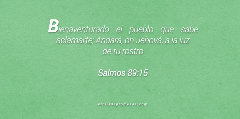 Salmos 89:15