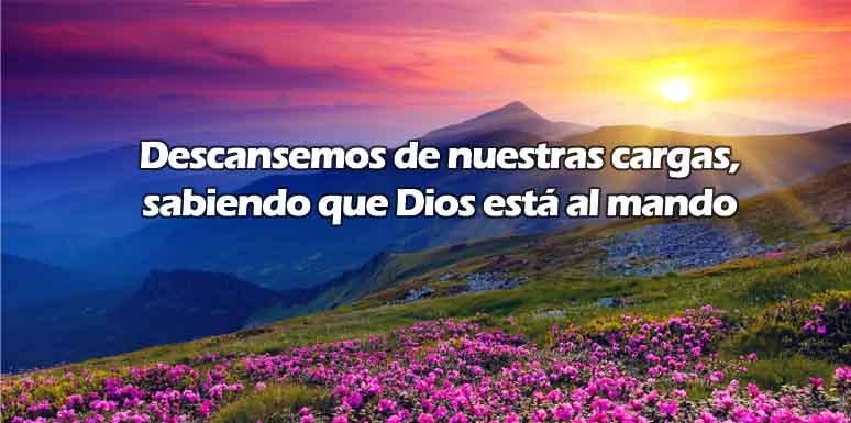 Dios está al mando