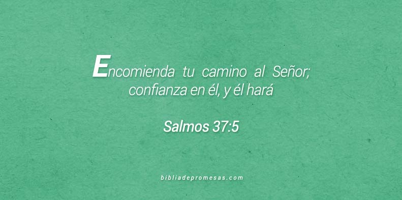 Salmos 37:5