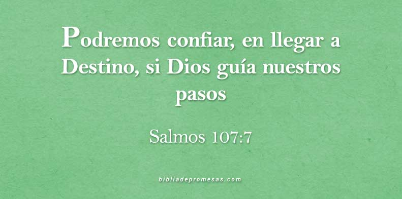 VERSICULO DIARIO SALMOS 107