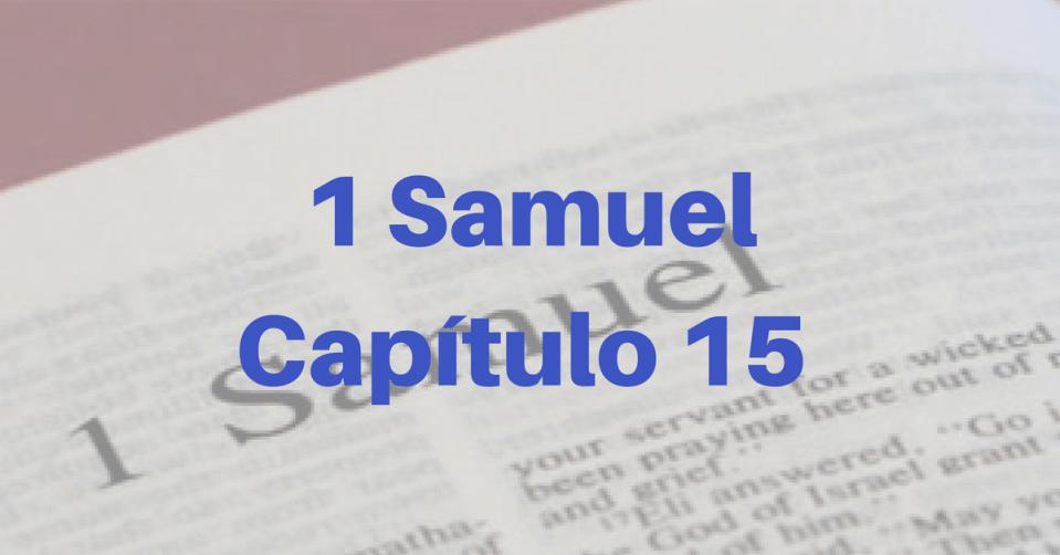 1 Samuel Capítulo 15