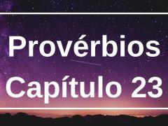 Provérbios Capítulo 23