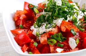 Pomidory ze śmietaną