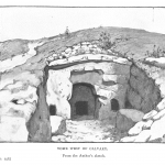 Tomb West of Calvary outside Jerusalem
