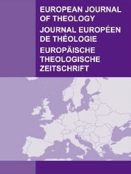 European Journal of Theology