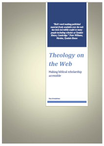 Theology on thr Web News