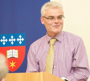 Revd Dr Simon Vibert, Vice-Principal of Wycliffe Hall Oxford