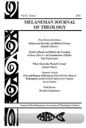 Melanesian Journal of Theology