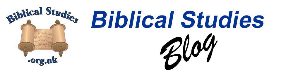Biblical Studies | Making Biblical Scholarship Accessible
