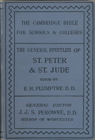 Edward Hayes Plumptre [1821-1891], St. Peter & St. Jude with Notes and Introduction