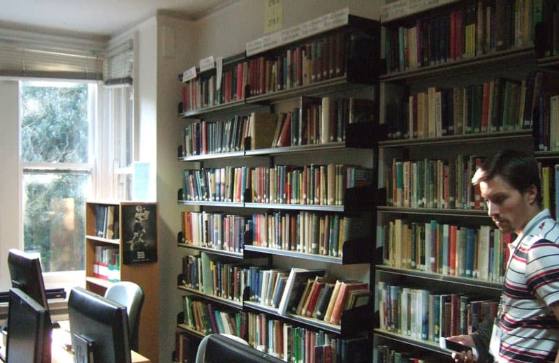 One of the main reading rooms