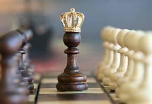 chess, pawn, king