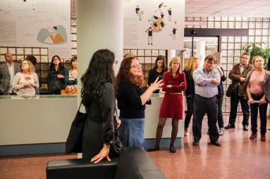 Araceli García explica el proyecto cartonero en marcha