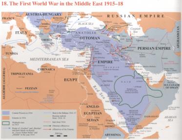 Birken, Andreas. Atlas of Islam, 1800-2000. Leiden : Brill, 2010 (pp. 40-41) (HIS ATL ISL 6)