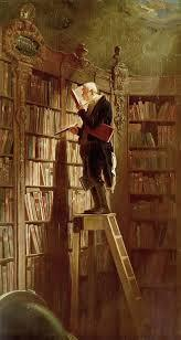 El ratolí de biblioteca, Carl Spitzweg, 1850
