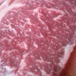 Steak for supper: wagyu from James Whelan Butchers