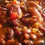 Moving time: Sausage and Bean Hotpot