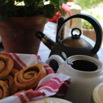 Cinnamon Rolls from On The Track Lodge in New Zealand's Marlborough Sounds