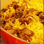 A Taste of Yellow: Spiced Mushroom Pilau