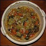 Vegetable soup – take two