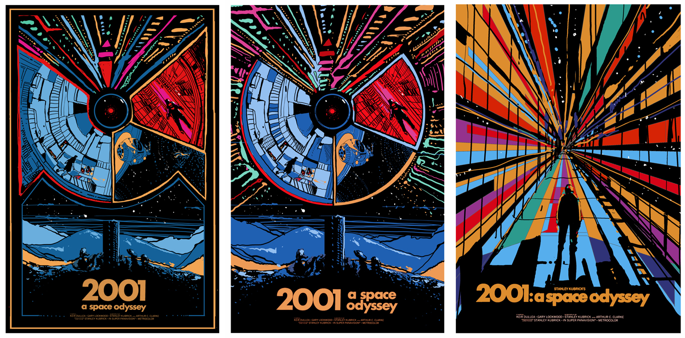 a space odyssey posters by kilian eng
