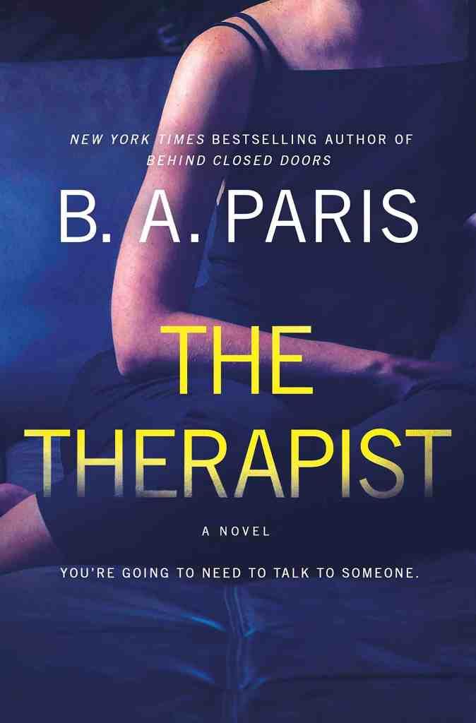 The Therapist:A Novel B. A. Paris