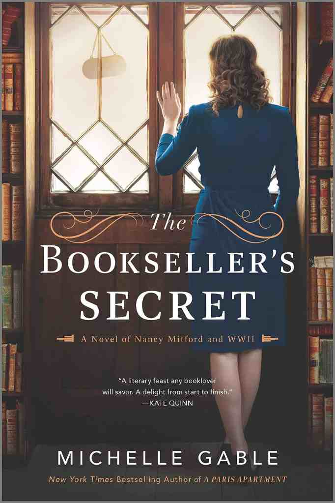 The Bookseller's Secret:A Novel of Nancy Mitford and WWII Michelle Gable