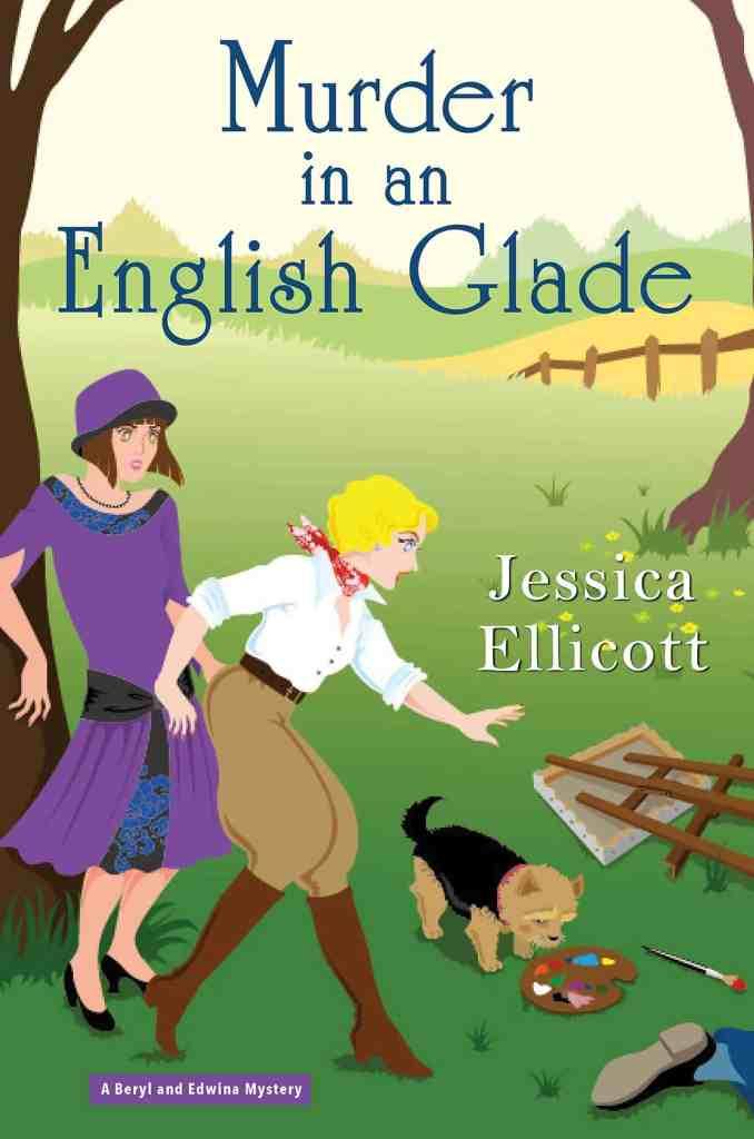 Murder in an English Glade Jessica Ellicott