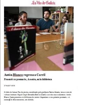Voz de Galicia 27 de abril