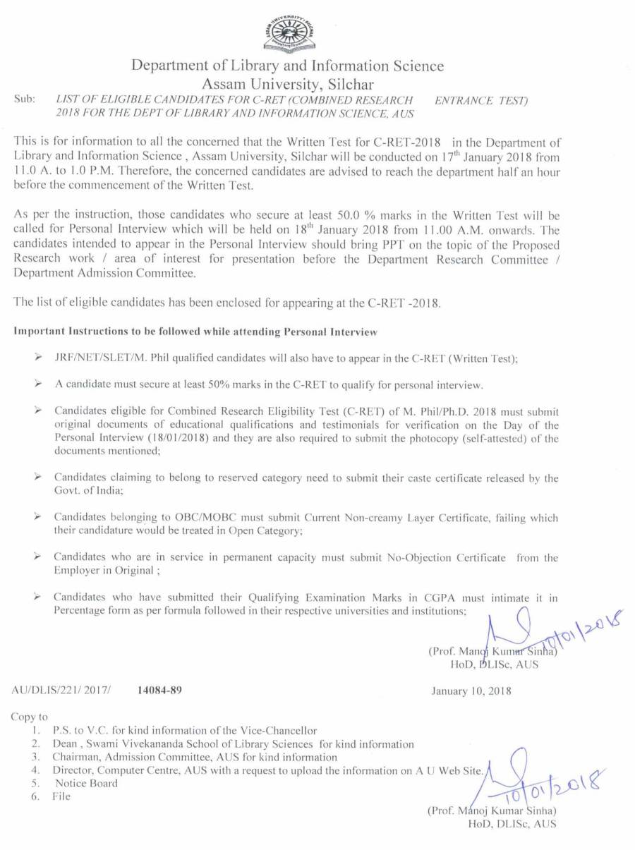 List of Eligible Canddiates for C-RET-2018 -Lib and Inf Sc -2018-1.jpg